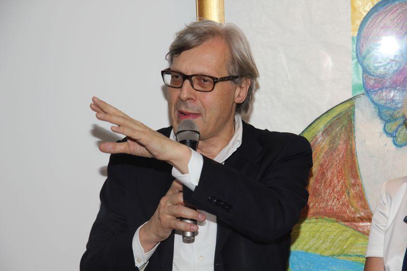 """Intervista a Vittorio Sgarbi:  """"L'opera di Bacon come una delle ultime espressioni di Umanesimo"""""""