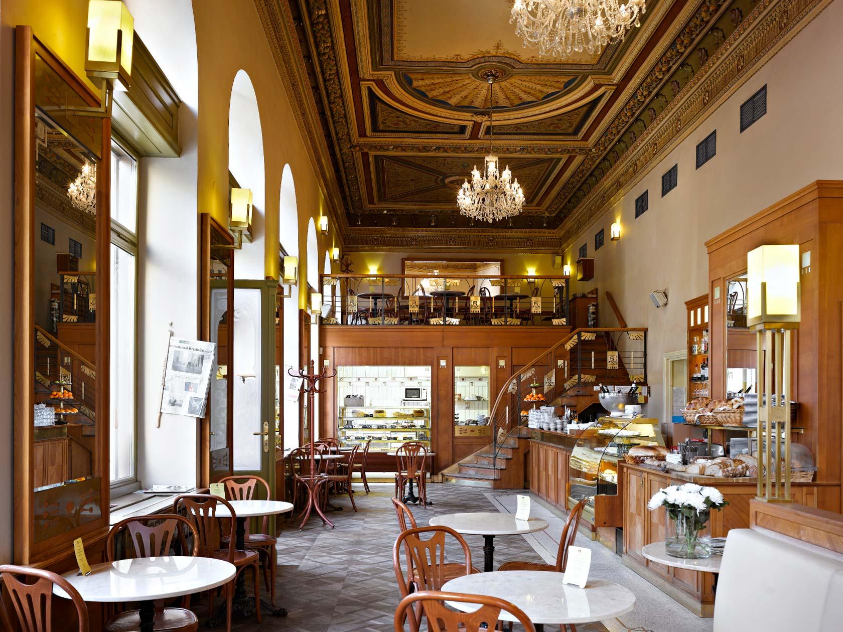 The belle epoque charm of prague caf s caf boheme for Hipster hotel prague