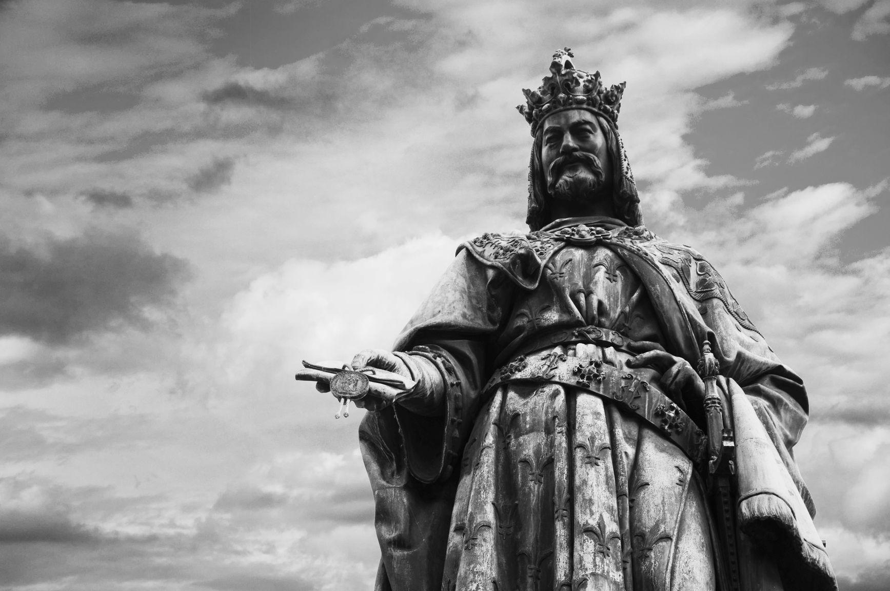 Korunovační jízda Karla IV. před 660 lety