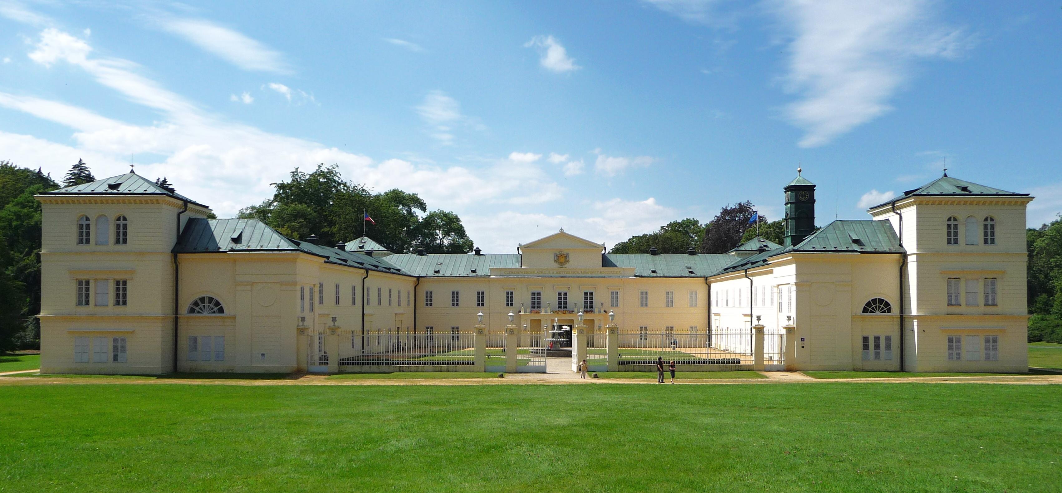 Nel castello del principe Metternich