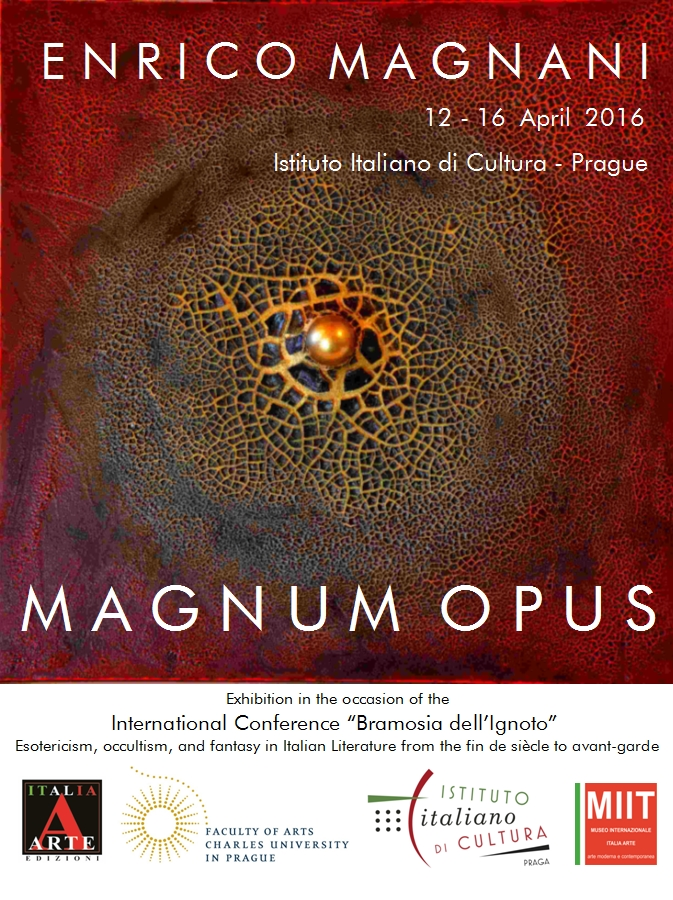 """""""Magnum Opus"""", mostra di Enrico Magnani"""