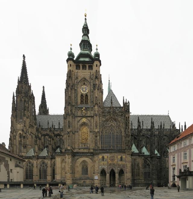 Matka katedrála - chrám svatého Víta, Václava a Vojtěcha.  Ladislav Moučka
