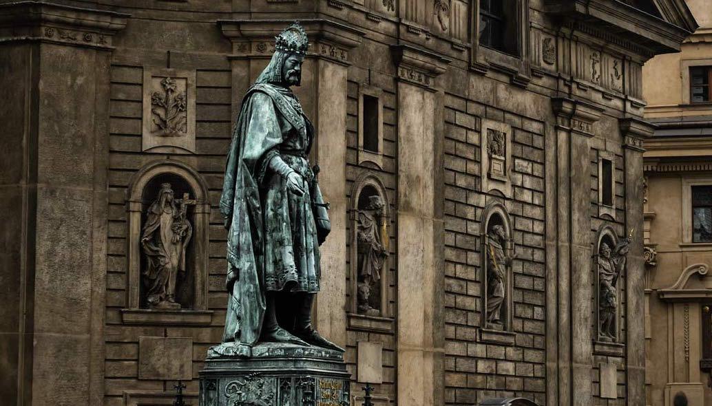 Carlo IV di Lussemburgo, Imperatore ed esoterista.