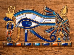 13203533-egyptian-papyrus-depicting-the-horus-eye-2