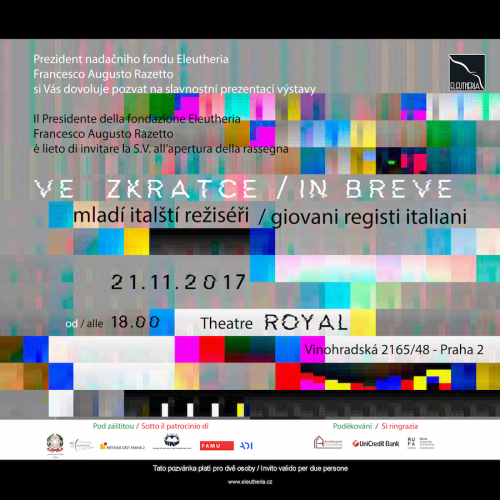 Giovani registi italiani a Praga.